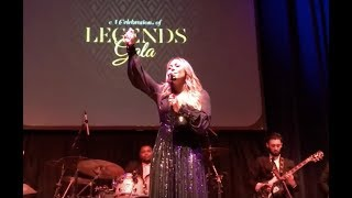 """Tamia Performs """"Open My Heart"""" at Yolanda Adams Tribute 
