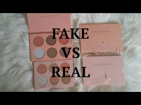 8239a8b3c36 Fake Nicole Guerriero Anastasia Beverly Hills Glow Kit vs Real!!