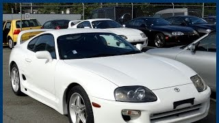 1999 Toyota Supra RZ-S JDM Twin-Turbo 6-Speed For Sale In Vancouver