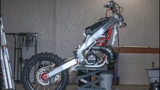 Taking Apart My CR250 For Something Special!
