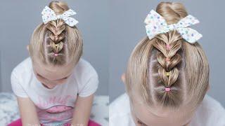 Peinados de niña faciles y rapidos