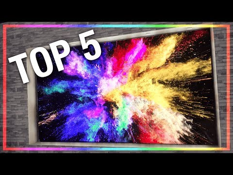 The Top 5 Coolest New TV's from CES 2018!