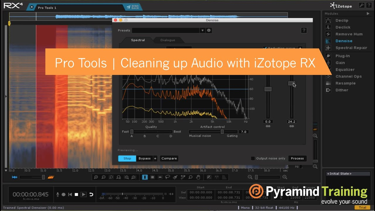 Pro Tools | Cleaning Audio with iZotope RX | Paul Simmans