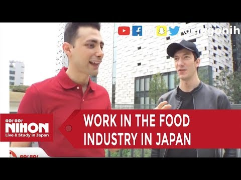 How to Work in the Food Industry in Japan - Go! Go! Nihon Live Show