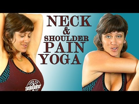Neck & Shoulder Pain Relief Exercises & Yoga Stretches Jen H