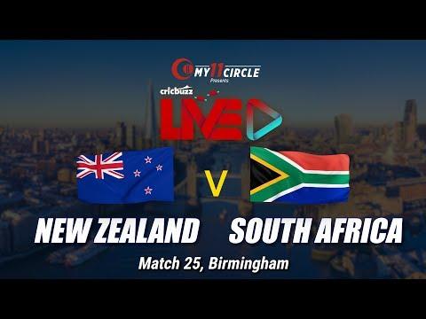 Cricbuzz LIVE: Match 25, New Zealand v South Africa, Toss & Team update