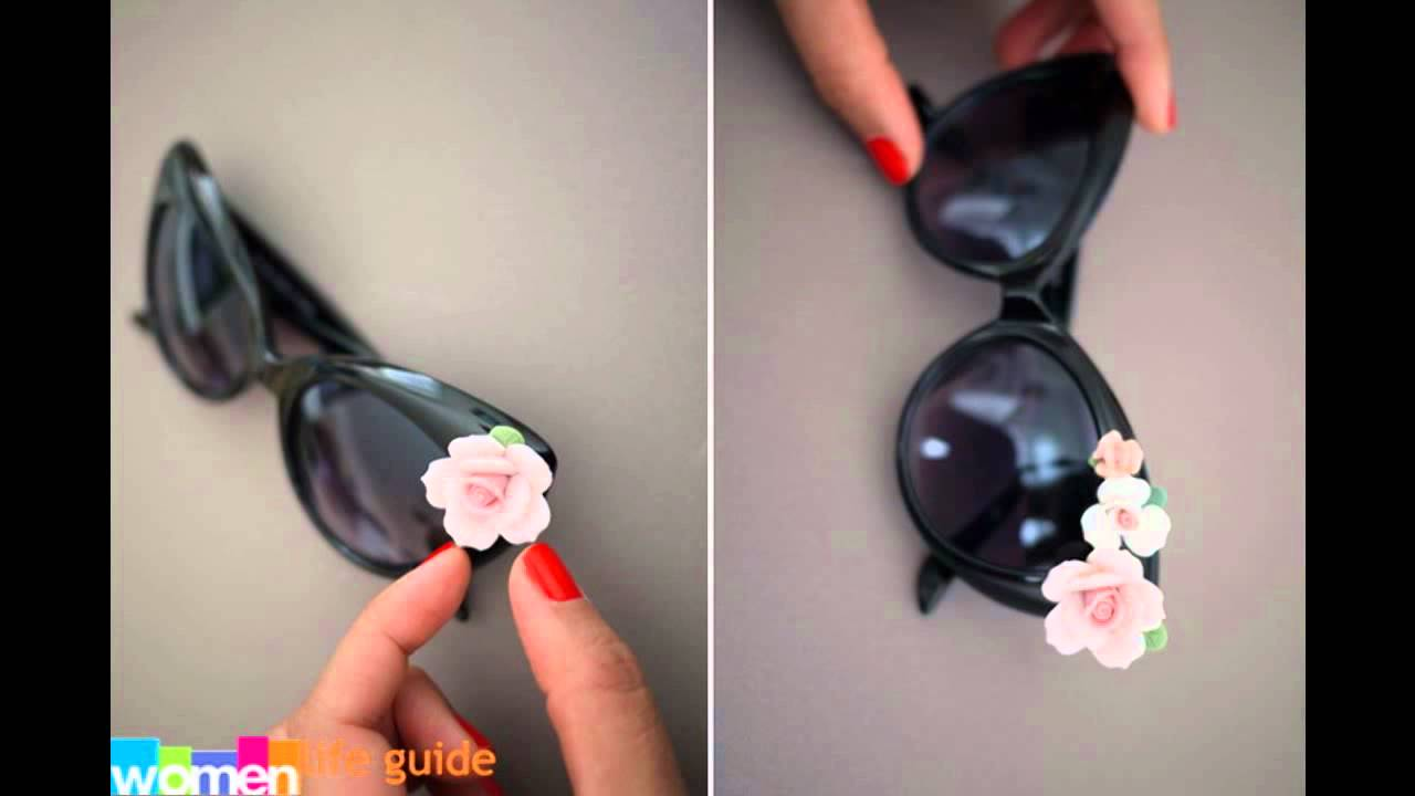 Güneş Gözlüğü Süsleme Fikirleri