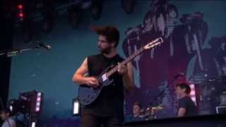 Foals - Inhaler at T in the Park 2013