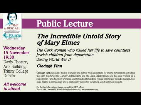 "HETI Annual November Lecture  ""The Incredible Untold Story of Mary Elms"""