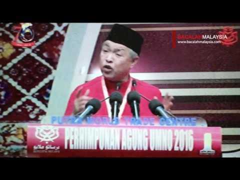 Ucapan Penggulungan Naib Presiden UMNO - Ahmad Zahid Hamidi #PAU2016