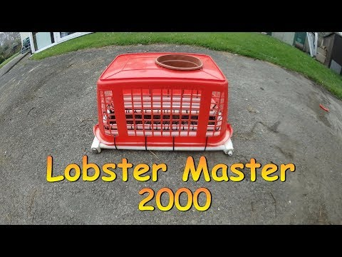 Lobster Master 2000  ( Lobster Trap Build Just For Fun )