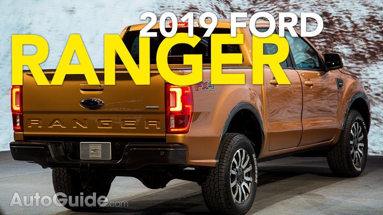 2019 Ford Ranger First Look - 2018 Detroit Auto Show - Dauer: 2 Minuten, 2 Sekunden