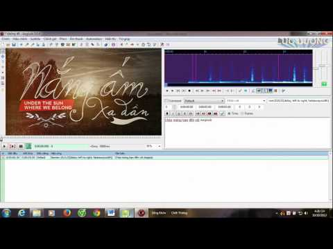 Hướng Dẫn Làm Hiệu Ứng Chữ Credit, Banner Chạy Ngang Màn Hình Trong Video Bằng Aegisub