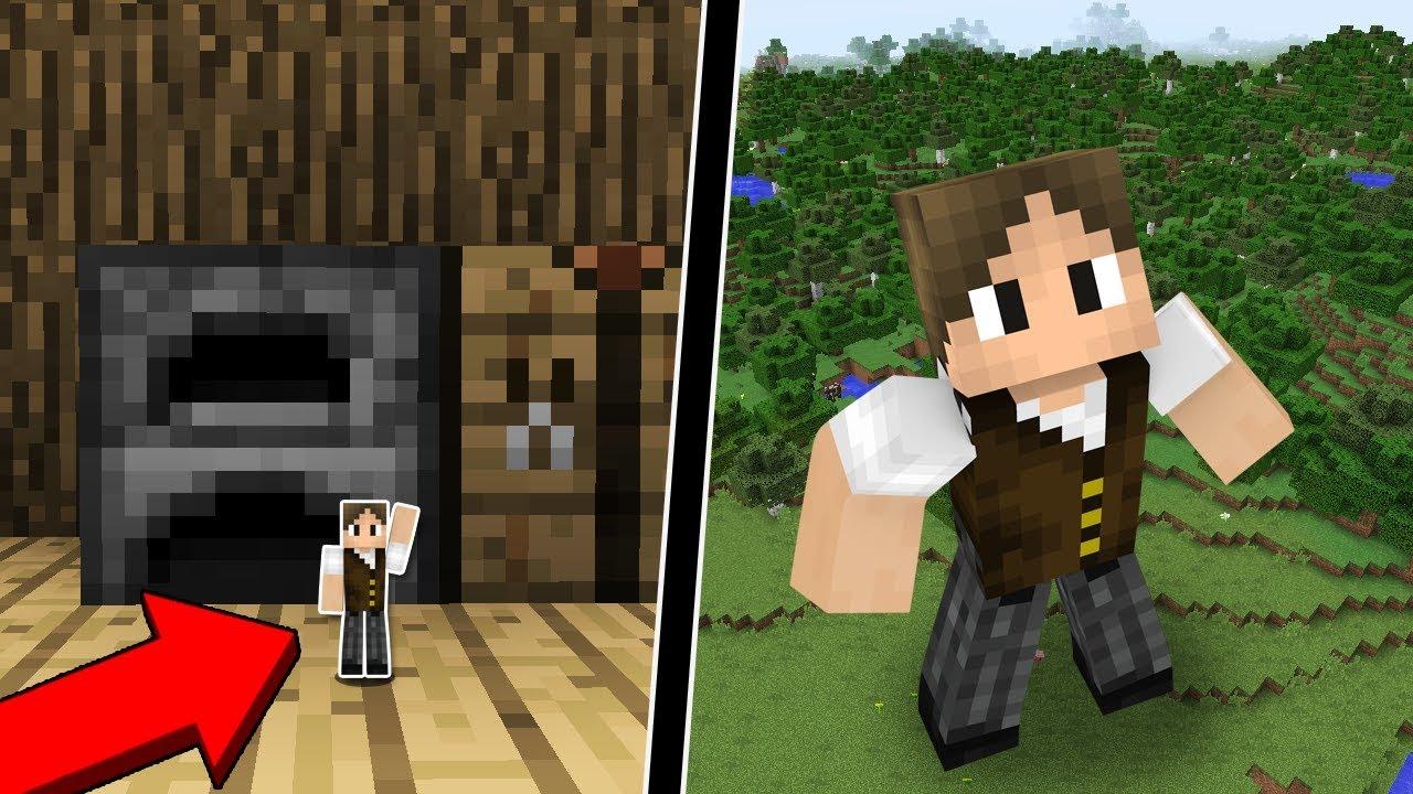 Minecraft: COMO FICAR MICROSCÓPICO OU SUPER GIGANTE NO MINECRAFT!
