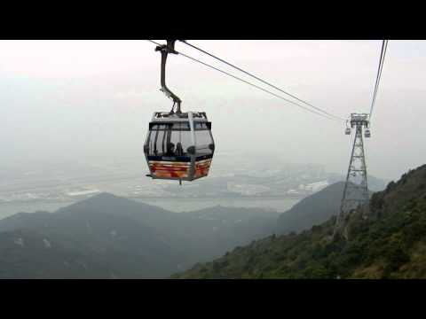 Cable Car from Po Lin Monastery to Tung Chung