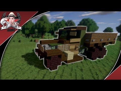 minecraft:-ww2-zis-6-|-6x4-cargo-truck-tutorial