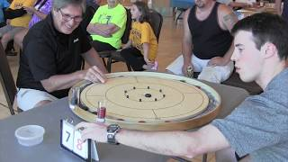 Crokinole 2017 New York Final - Conrad v Walsh