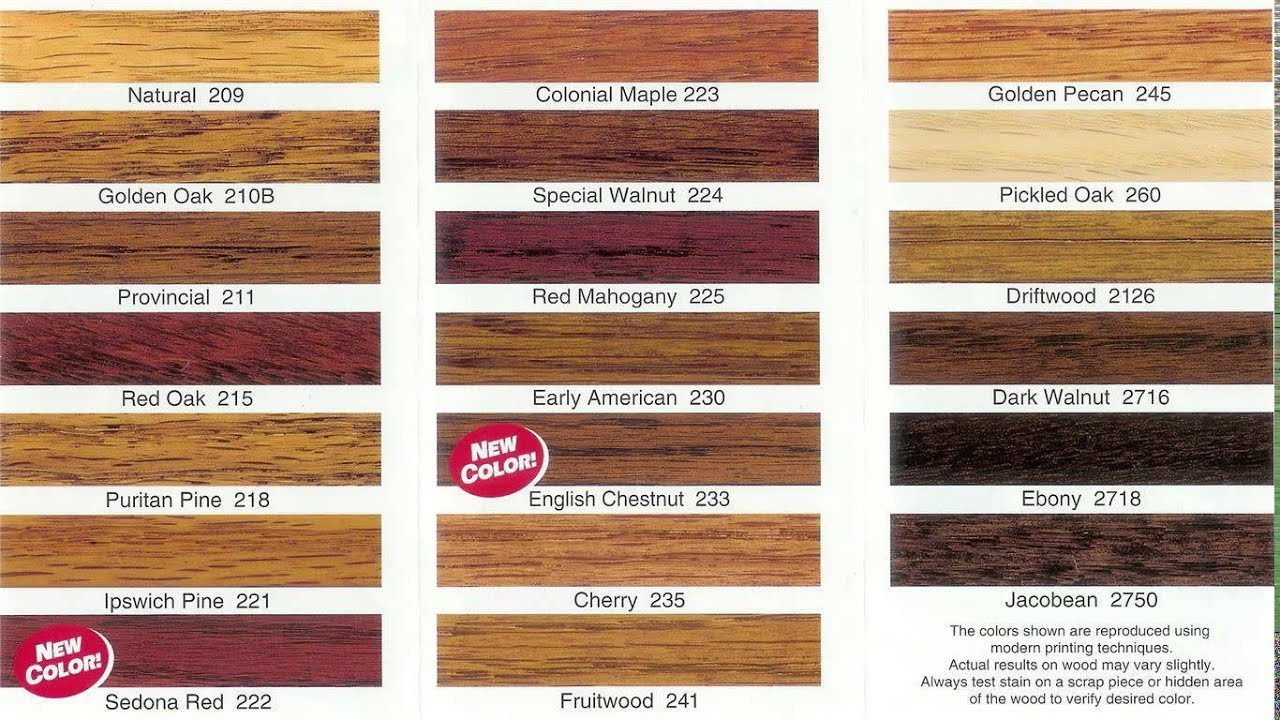Wood Floor Colors