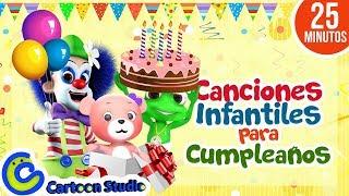Canciones de cumpleaños -  Feliz cumpleaños -  Vídeos de cumpleaños - Felicitaciones de cumpleaños