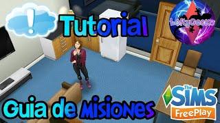 The Sims Freeplay | Guía de misiones | Tutorial