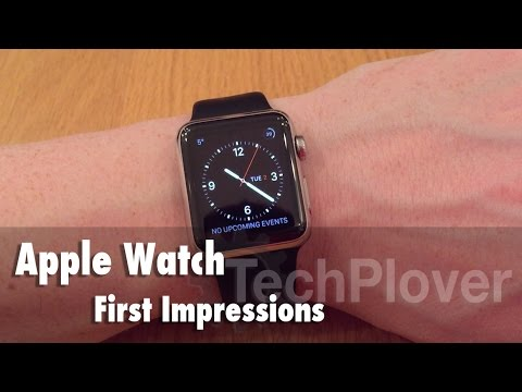 Apple Watch 38mm Stainless Steel - First Impressions