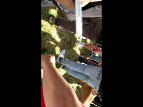 Trump Protesters Burn American Flag At GOP Convention In Burlingame