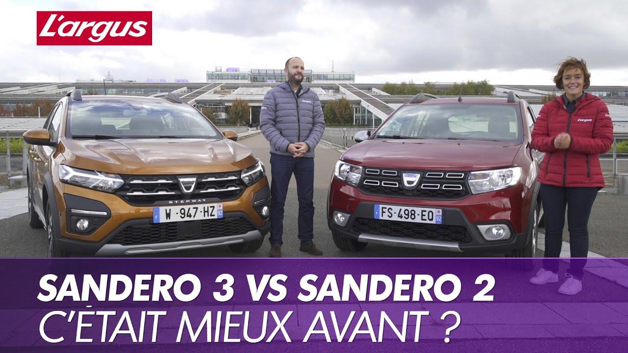 الفرق بين Dacia Sandero القديمة و الجديدة