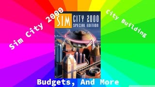 Building a City! SimCity 2000 Special Edition