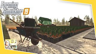 #81 - PRODUZIONE DI CAROTE - FARMING SIMULATOR 19 ITA RUSTIC ACRES