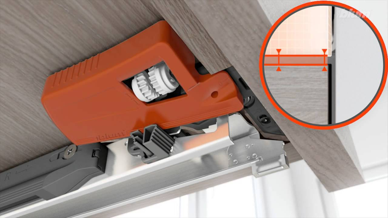 This Video Demonstrates The Height Side Tilt And Depth Adjustment For Blum Movento From Daro
