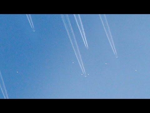 Orbs flying in the sky (CGI)