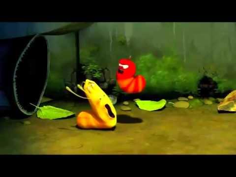 смешные червячки ларва