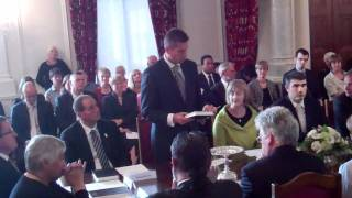 Post Election Cabinet Sworn In At Government House, Wellington 14 December 2011 (2)