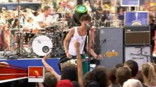 Repeat youtube video The All-American Rejects - Swing Swing (Today Show Performance)