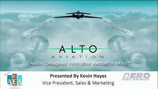 Aero-TV: Alto Aviation - AEA 2018 New Product Introduction