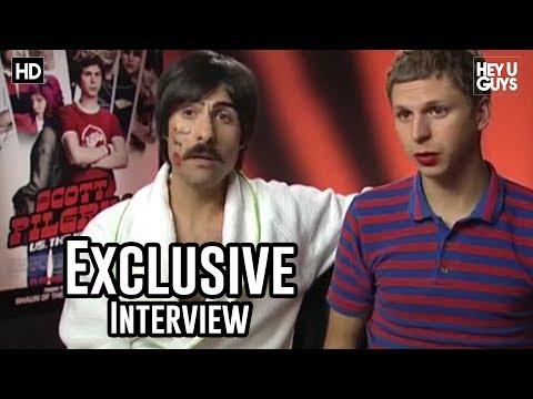 Scott Pilgrim vs. The World Cast Interviews - Michael Cera, Mary Elizabeth Winstead, Chris Evans