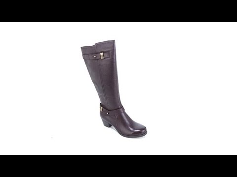 """naturalizer-""""kastle""""-leather-belted-tall-boot"""