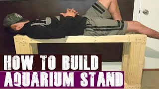 DIY: How to Build Aquarium Stand