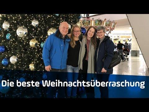 Die Beste Weihnachtsüberraschung | Tochter überrascht Familie Zu Weihnachten | ANTENNE BAYERN