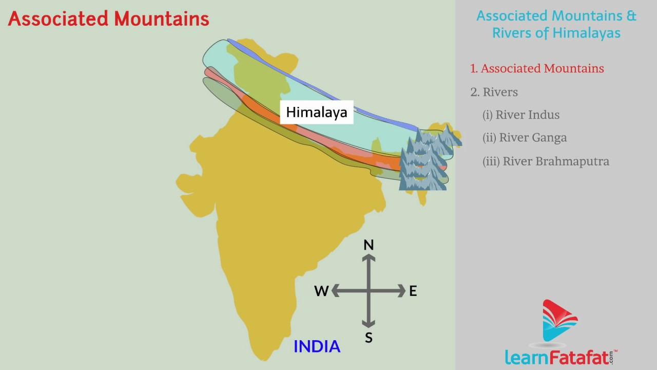 the northern mountain region of india