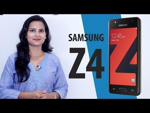 Samsung Z4 Tizen 3.0-Powered Smartphone, 4.5-Inch Display | सैमसंग ज़ेड4 लॉन्च