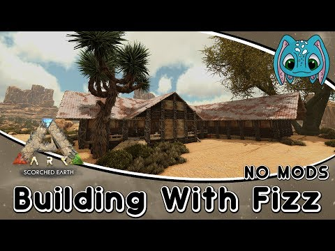 ARK: Building w/ Fizz :: Equus Stable Build & First Look at eco's Stable Structures and Decor