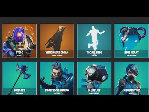 *NEW* Upcoming Item Shop Cosmetics! NEW Fortnite Skin CYCLO & MORE!!