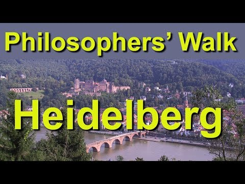 Philosophers Walk, Heidelberg, Germany