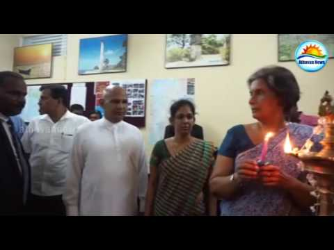 Chandrika opens tourism center in Jaffna