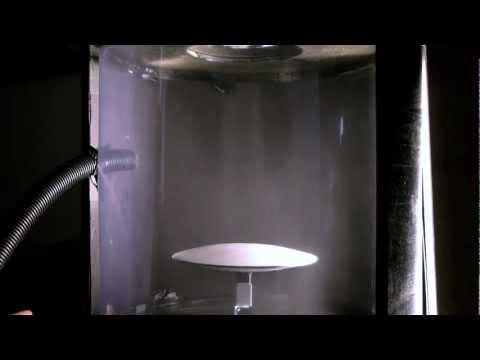 Vortex lift! (a vortex lifting a heavy metal disc)