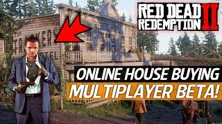 Red Dead Redemption 2 - Online Beta Soon, Buying Houses Online & GTA 5 Micheal Easter Egg!
