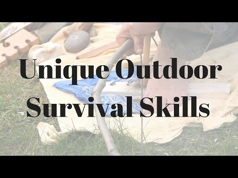 Survival Skills - wilderness survival tips- Unique Outdoor Survival Skills