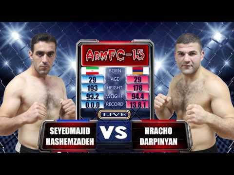 ArmFC 15  Seyedmajid Hashemzadeh Vs Hracho Darpinyan HD