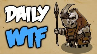 Dota 2 Daily WTF - Traffic police, GET OFF!!!